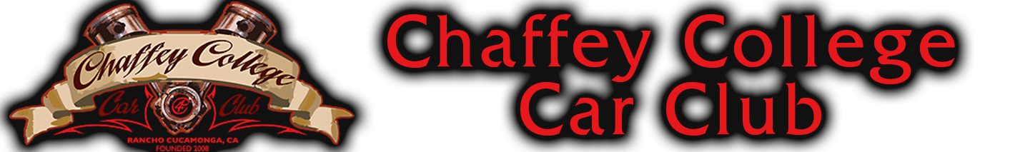Chaffey College Car Club Banner